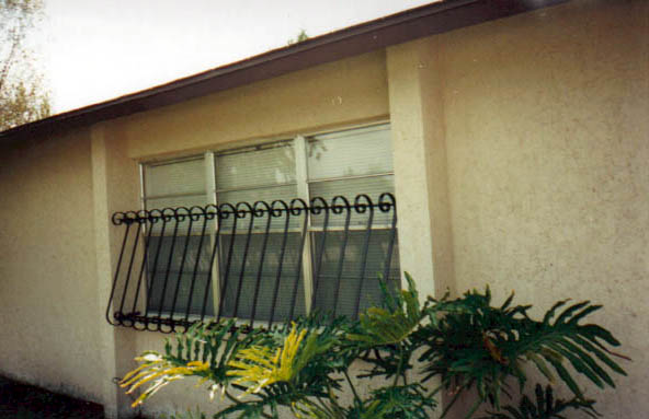 Additional decorative window guard designs for Window protector designs